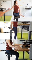 LeanRite Elite Standing Chair - Facilitates Healthy Movement