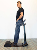 LeanRite Elite Standing Chair - Leaning Mode