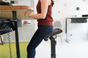 LeanRite Elite Standing Chair - Perching Mode