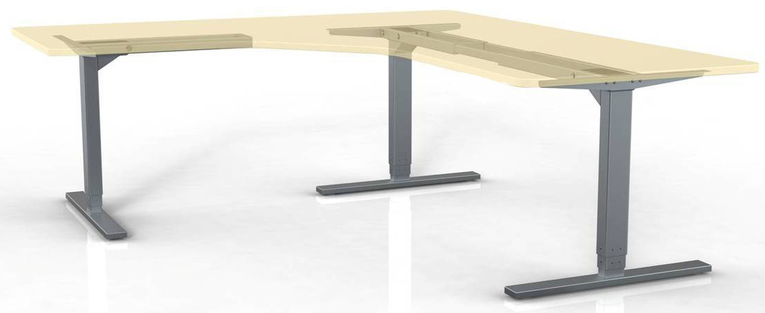 Wondrous Ergomaker 3 Leg Electric Height Adjustable Base By Ergomaker Download Free Architecture Designs Embacsunscenecom