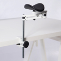 Ergorest Foream Support with Extension Poles - Black Pad