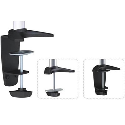 320 series pole mount single monitor articulating arm