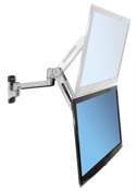 LX Sit-Stand Wall Arm Monitor Mount - 20