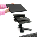 Neo-Flex Notebook Lift Stand - Accommodates Docking Stations