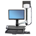 StyleView Combo System with Workstation with monitor