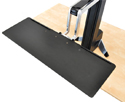 Ergotron Workfit S Single HD Sit-Stand Workstation with Worksurface has a 27