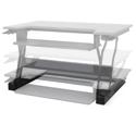Workfit-T Sit-Stand Desktop Workstation - Range of Motion