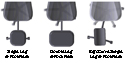 ErgoUP Double Leg and Foot Rest - models available