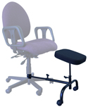 ErgoUP Single Leg and Foot Rest - attaches to chair