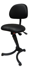 EZSIT Leaning Stool with Back