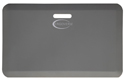 MATAR Anti-Fatigue Mat: Black with Yellow Safety Stripes