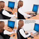 Microdesk Relieves Strain on Neck, Shoulders