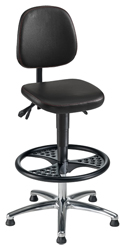 STEPL Drafting Chair - Model SDC-BLK-05004