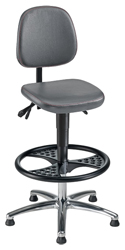STEPL Drafting Chair - Model SDC-GRY-07033