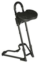 STEYBIL Leaning Stool - Formed Polyurethane Seat