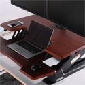 Eureka Standing Desk Converter 36 - Large Mousing Zones