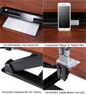 Eureka Standing Desk Converter 36 - Convenient Features
