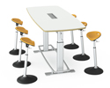 Confluence Conference Table with Mobis Seats