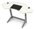 Locus Sphere Desk in White Oak Veneer