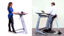 Working at a Locus Standing Desk