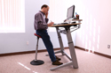 Mobis Seat is a Perfect Match for Height Adjustable Desks