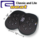Gelco GSeat - Classic and Lite Dimensions
