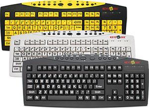 0665cd92daa Keys-U-See Large Print USB Keyboard by Genesis Worldwide Enterprises ...
