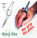 No-Grip Ring Pen (2 Pack)