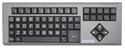 Big Keys Keyboard LX (PS/2) - grey housing, black keys