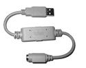 Big Keys Keyboard LX (PS/2) - USB Single Port Adapter (PS2-to-USB)