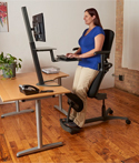 Stance Angle Chair - Leaning/Standing