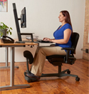 Stance Angle Chair - Sitting