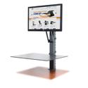 Health Postures Taskmate EZ - Independent Adjustment of Keyboard and Monitor