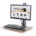 Health Postures Taskmate EZ - Wide Range of Adjustment Possible