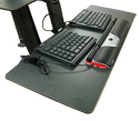 Health Postures Taskmate GO with Large Tray Accessory