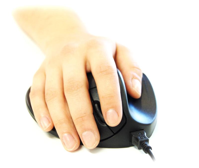 8046d9b7bfb Handshoe Mouse (Wireless) by Hippus NV : ErgoCanada - Detailed ...