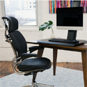 QuickStand Eco Single, Black in Use for Sitting