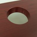 ThermoDesk Ellure's Fully Sealed Grommet Holes