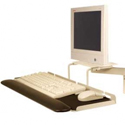 7500 Deluxe Monitor Arm - Keyboard Tray and Bracket