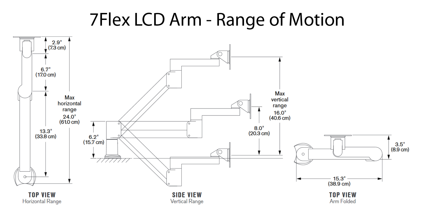 7flex Lcd Arm By Innovative Ergocanada Detailed
