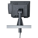 Adjustable POS Through-Counter Mount - back view
