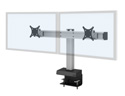 Bild Dual Configuration with Clamp Mount (Front View)