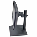 Flat Panel Stand with Pivot and Tilt - single monitor