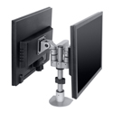 Long-reach Side-by-Side LCD Mount - back to back orientation