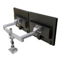 Long-reach Side-by-Side LCD Mount - side by side orientation