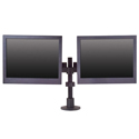 Side By Side Dual LCD Mount - front view