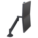 Switch Dual Monitor Bracket Accessory - stacked view