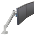 Switch Dual Monitor Bracket Accessory - side/front view