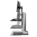 Winston-E Compact Workstation Dual - Height Adjustment Range
