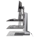 Winston-E Workstation Dual - Height Adjustment Range